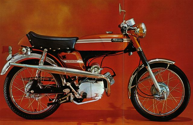 My Yamaha FS1 50cc moped,  click to view